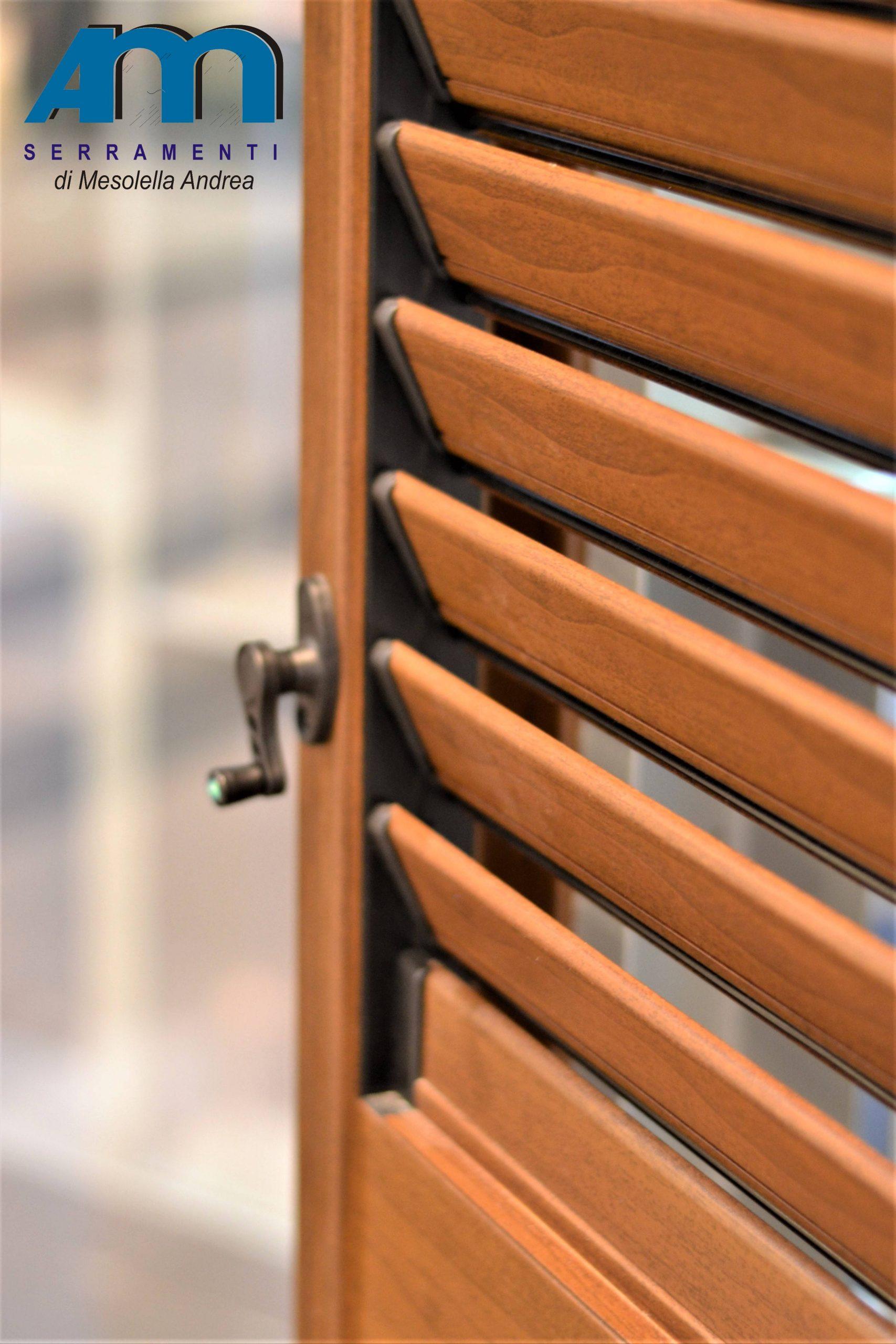 persiane alluminio legno orientabili